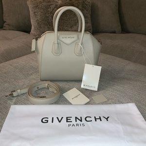 💯% Authentic Mini Givenchy Antigona in 'Natural'
